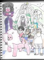 Steven Universe Family by HTsponge