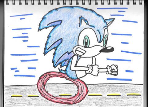Sonic Running!