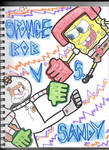SpongeBob vs Sandy by HTsponge