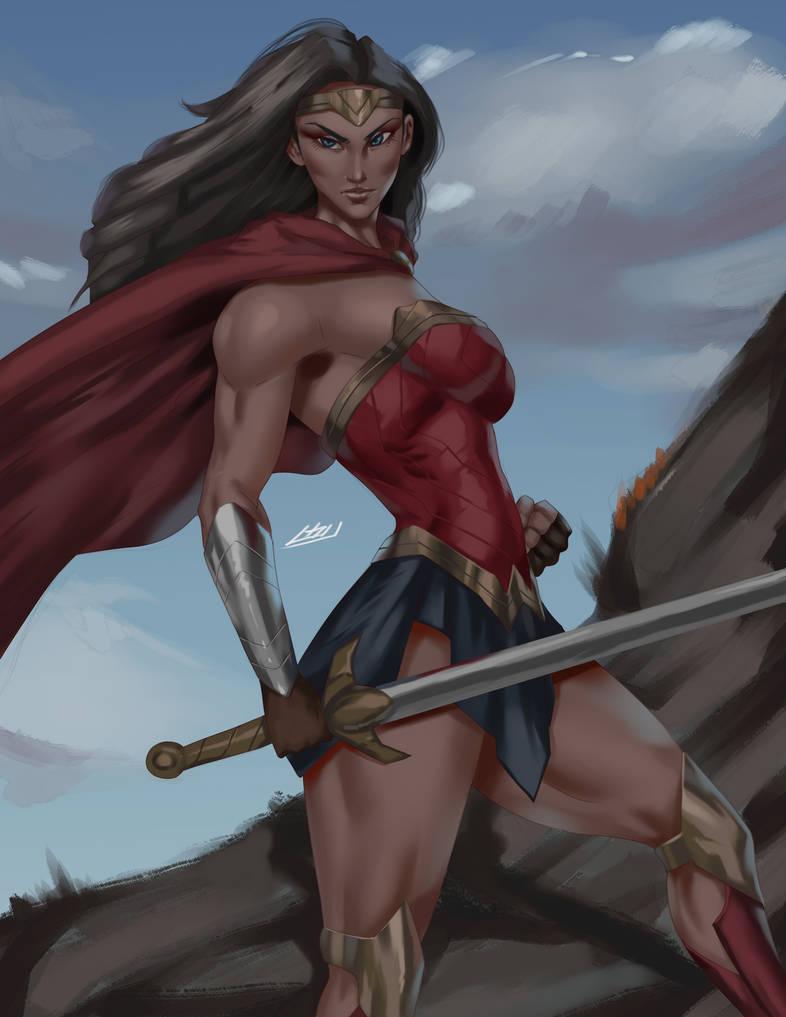 Wonder Woman - prepared by iamHikari-kun