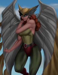 Hawk Girl by iamHikari-kun