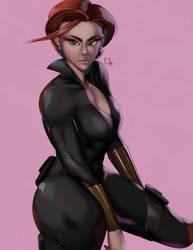 Black Widow - MCU by iamHikari-kun