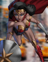Wonder Woman - In Action