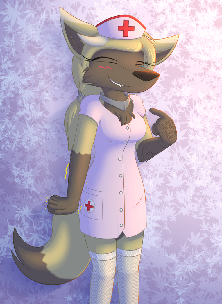 Nurse Outfit Elane by W0lfmare
