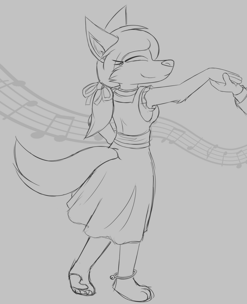 Dancing Ariah by W0lfmare