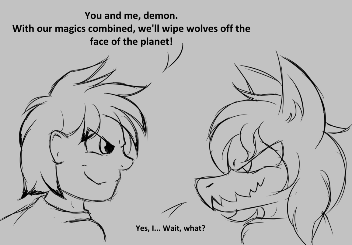 Worst of Both Worlds by W0lfmare