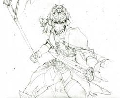 Hilde Sketch