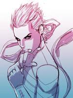 Captain Marvel Sketch by Antboy