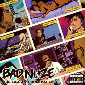 THE LIEZ AND RUMORZ LP ALBUM COVER