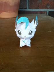 Paper Leafeon by adawongxxxrikku