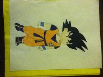 Goku Chibi by adawongxxxrikku