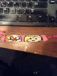 Fionna and Cake Friendship Bracelet
