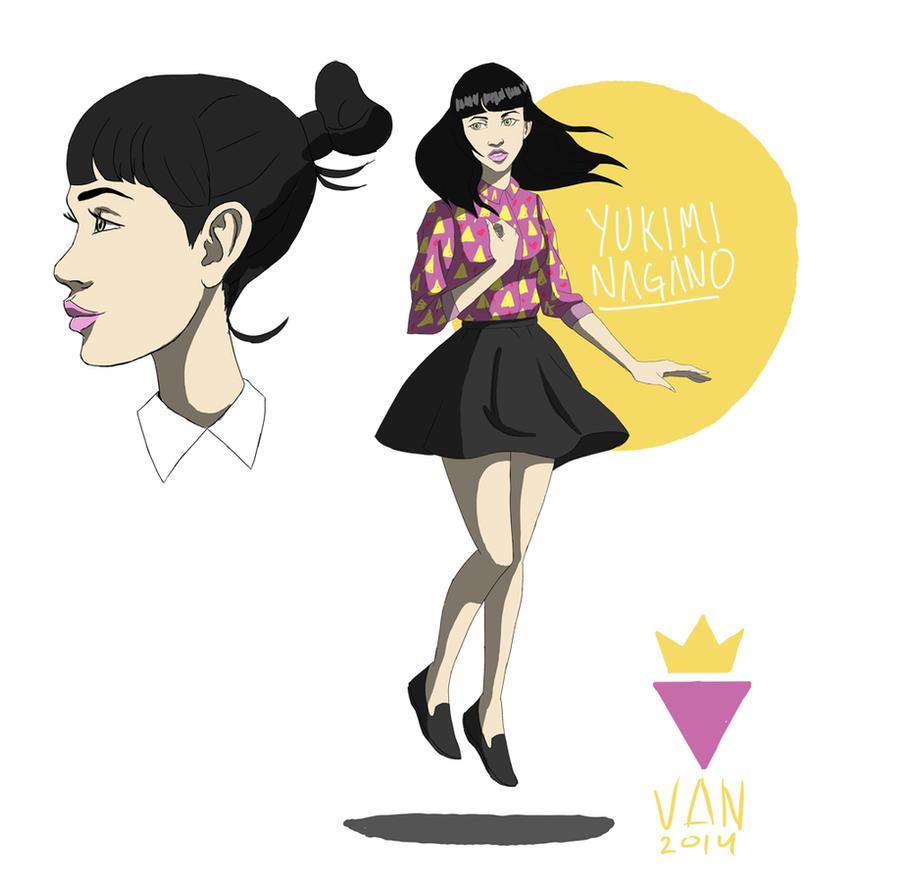 Yukimi Nagano by VantelTurner