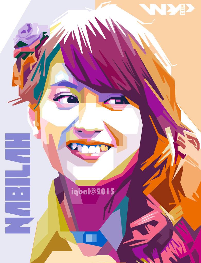 WPAP Nabilah Ratna Ayu JKT48 by iqbal dwi by iqbaldwi on ...