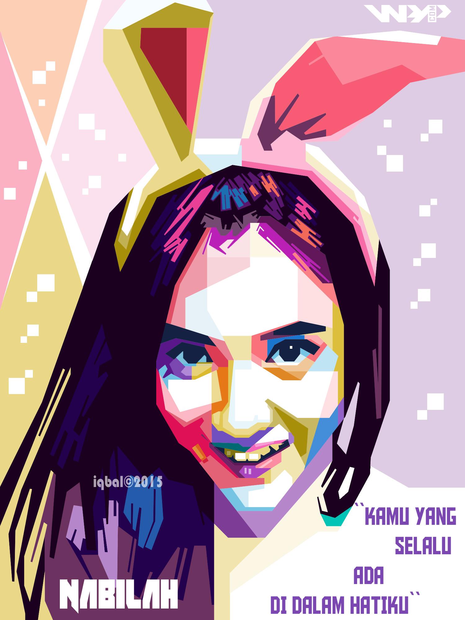 WPAP Nabilah JKT48 by iqbal dwi by iqbaldwi