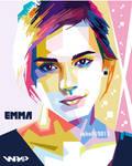 WPAP Emma Watson by iqbaldwi