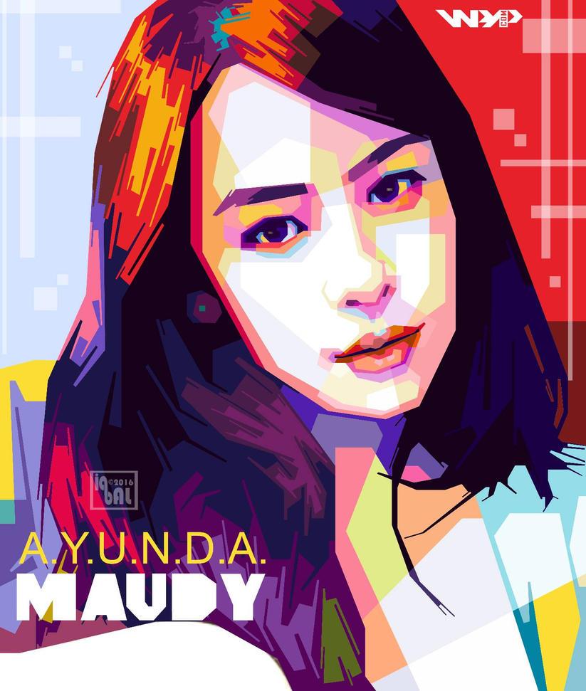 WPAP Maudy Ayunda by iqbaldwi by iqbaldwi