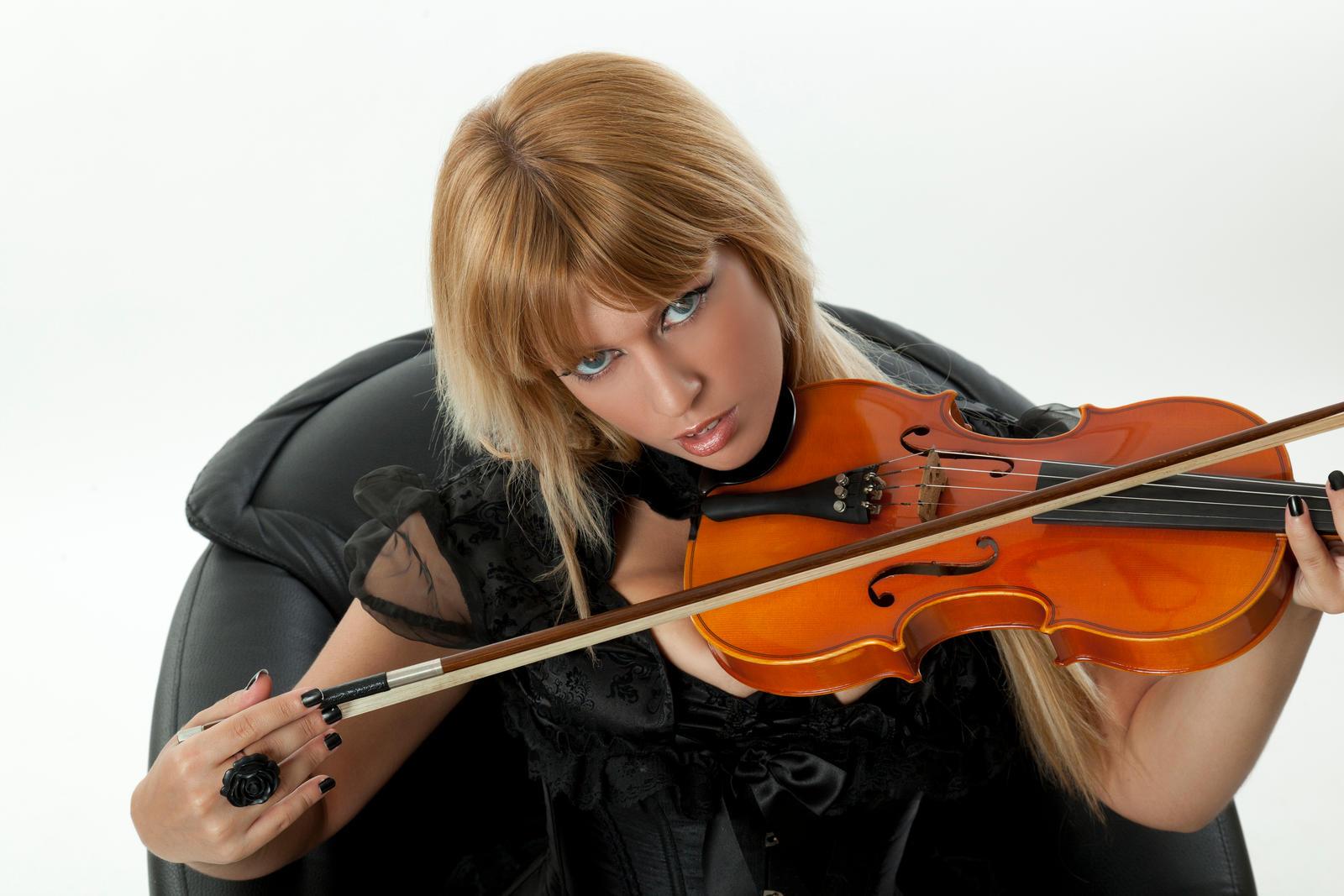 Tanit-Isis Violin close up by tanit-isis-stock