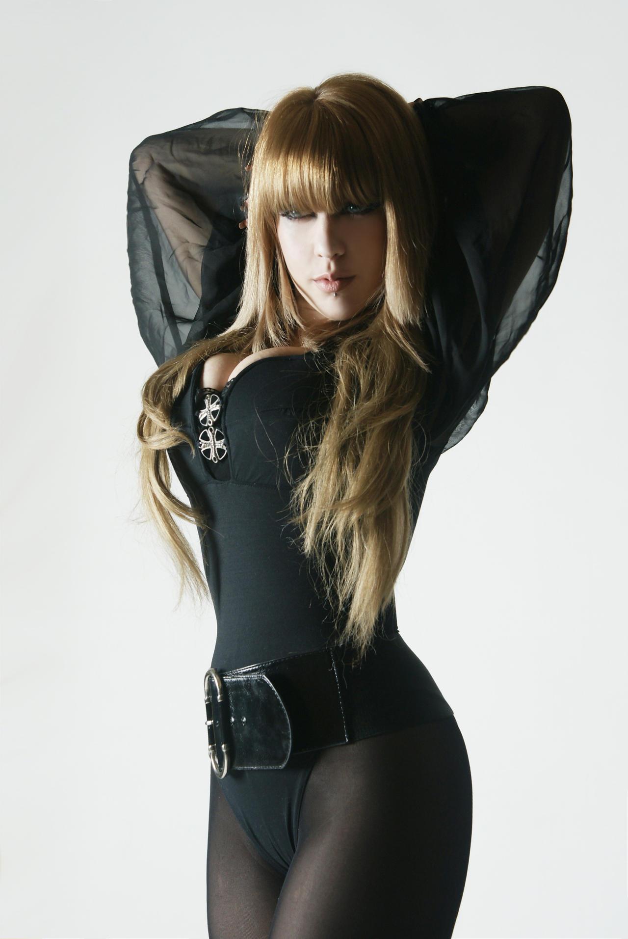 Tanit-Isis Black Bodysuit II by tanit-isis-stock