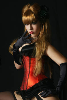 Tanit-Isis Red Burlesque VII
