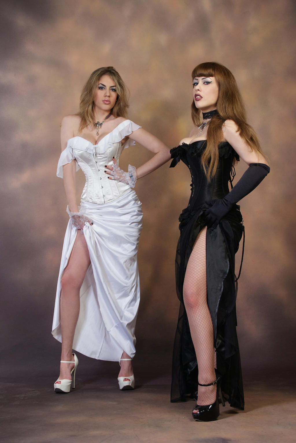 Good and Evil Stock D by tanit-isis-stock