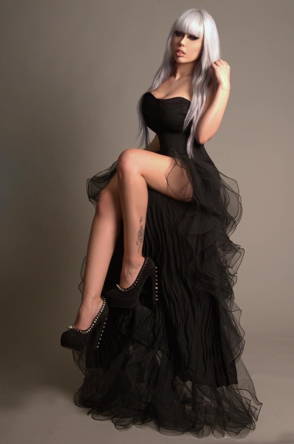 Black Gown II