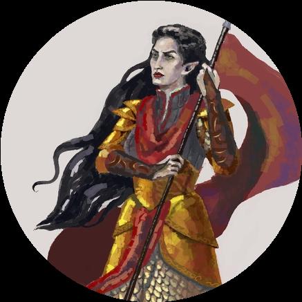 The Elven Queen by Glutiam