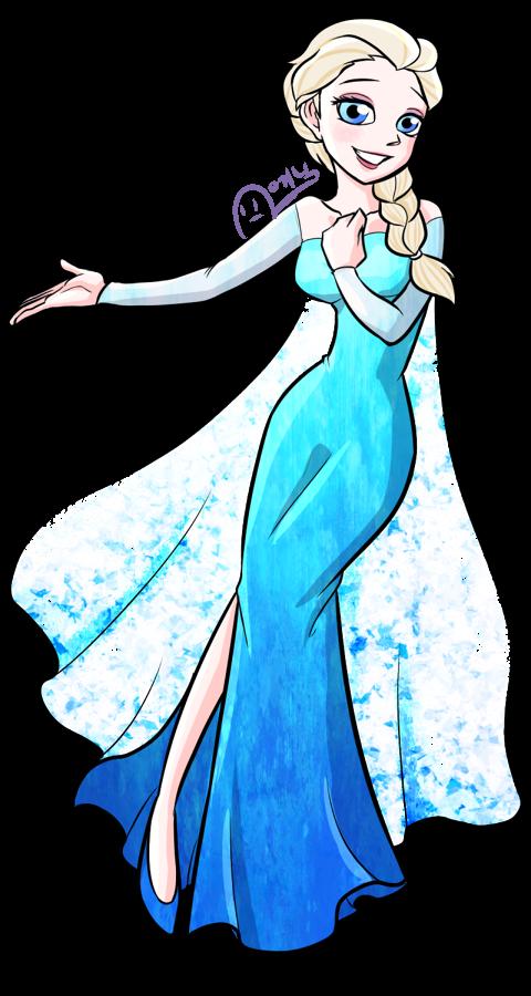 Elsa by AnicMJ