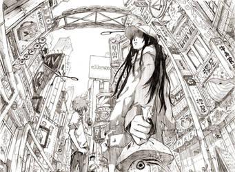 Playground: Fish's Eye by hakumo