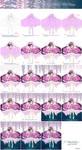 'Fleeting Wisteria' Work process by hakumo