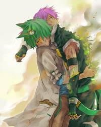 Ashu and Fiane by hakumo