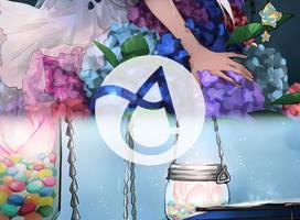 Aqualumina Artbook: preview by hakumo
