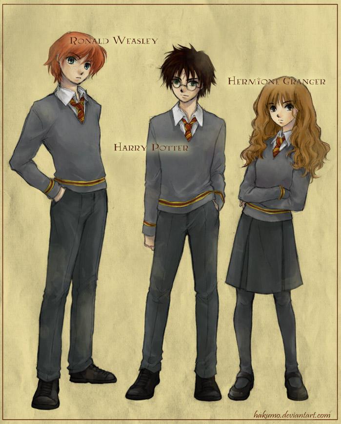 Harry Potter By Hakumo On Deviantart