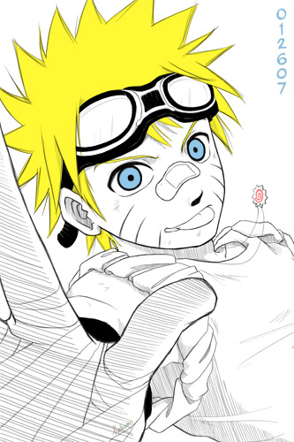 gangsta naruto by hakumo on deviantart