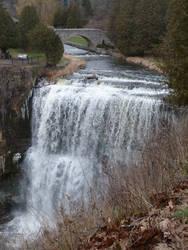 Webster's Falls Bridge and Falls