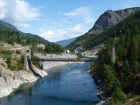 Brilliant Suspension Bridge British Columbia