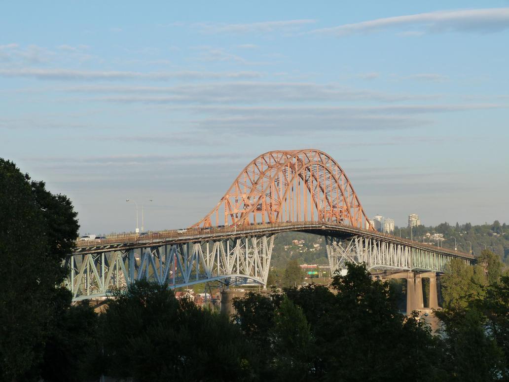 Pattullo Bridge by historicbridges