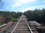 Kingsford Railroad Bridge by historicbridges