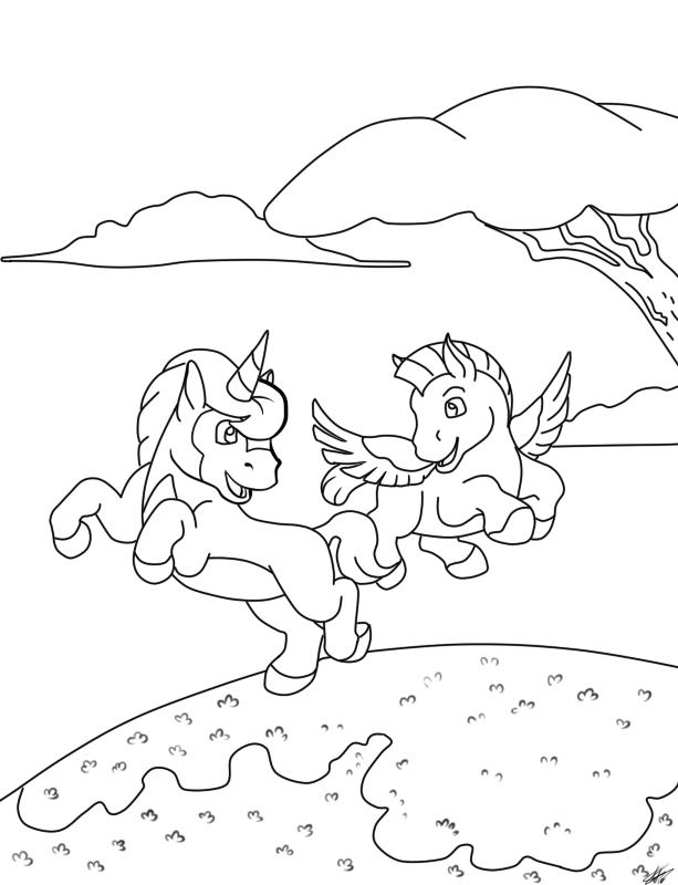 Fantasia Horses By KashimusPrime On DeviantArt