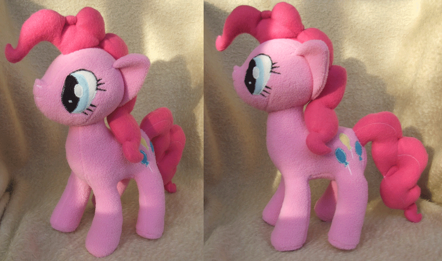 MLP Pinkie Pie Plush by NekoRushi