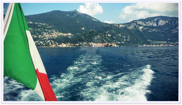 Italia bella, Como Lake by hystericanaturelle