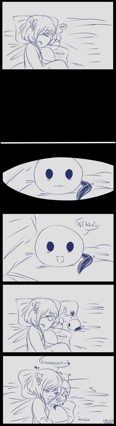 Mochis Are Huggable by UnlimitedSkye
