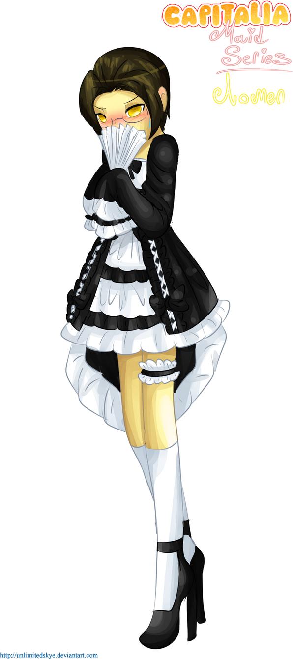 Capitalia Maid Series #07 - Aomen by UnlimitedSkye