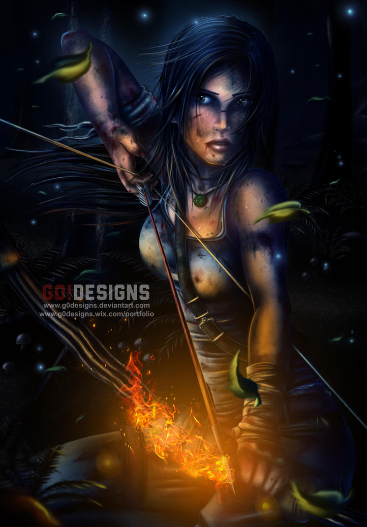 Tomb Raider Reborn Contest Entry by G0DESIGNS
