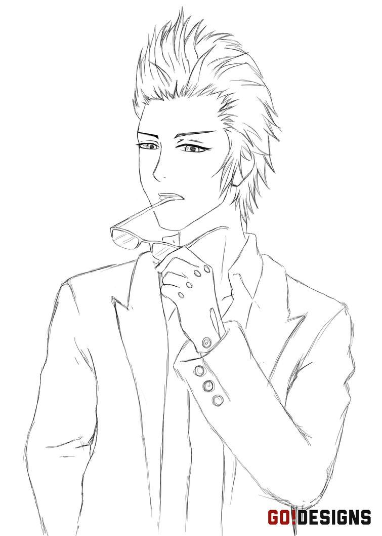 Final Fantasy XV: Ignis Sketch by G0DESIGNS