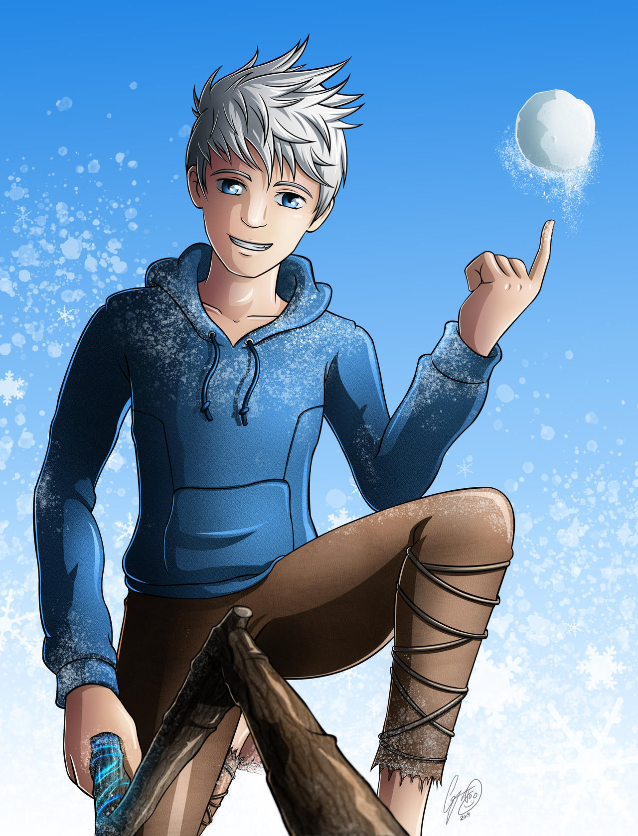 Jack Frost Rise Of The Guardians By Godesigns87 On Deviantart