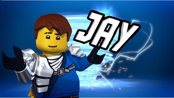Jay Ninja Of Lightning By Electric Bluejay