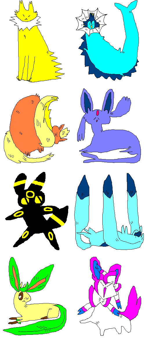 Pokeons by tech-impaired-anubis