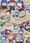 South Park- Tweek x Craig collage