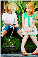 ALA: OP Kids - Sanji and Nami by SoySauceCosplay